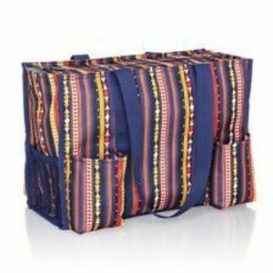 NIB Thirty-One Organizing Tote Southwest Strip